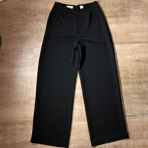 Vintage High Waist Wide Leg Dress Pants Talbots